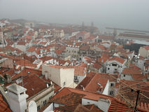 Alfama, Lissabon Stock Foto's