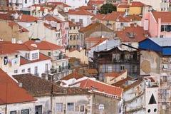 Alfama, Lissabon Royalty-vrije Stock Afbeeldingen