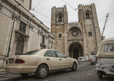 Alfama, Lissabon, Portugal Royalty-vrije Stock Foto's