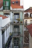 Alfama neighbourhood Lisbon royalty free stock photography