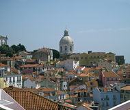 Alfama quarter, Lisbon, Portugal Royalty Free Stock Photo