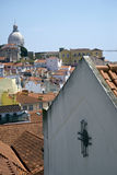 Alfama quarter, Lisbon, Portugal Stock Photography
