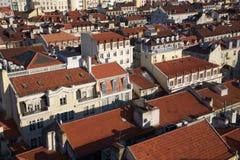 Alfama skyline in Lisbon, Portugal Royalty Free Stock Photos