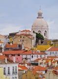 Alfama Skyline in Lisbon Stock Photos