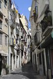 Alfama streets Royalty Free Stock Photography