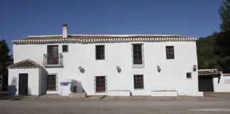 Alfarnate hosterly, o active andaluz o mais velho da pensão, Malaga, Sp Foto de Stock Royalty Free