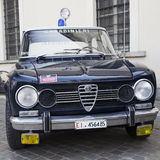 Alfetta of Carabinieri Stock Photography