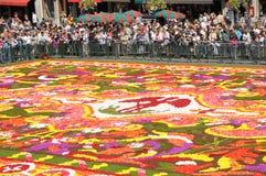 Alfombra 2008 de la flor Fotos de archivo libres de regalías