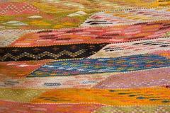 alfombra abigarrada de las lanas Imagenes de archivo