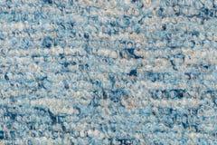 Alfombra azul Foto de archivo libre de regalías