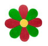 Alfombra bajo la forma de flor Fotografía de archivo libre de regalías