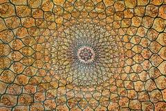 Alfombra con el ornamento floral Imagen de archivo libre de regalías