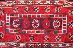 Alfombra con los modelos turcos tradicionales Fotografía de archivo