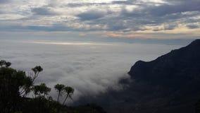 Alfombra de la nube Imagenes de archivo