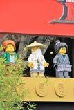 Alfombra de la premier de LEGO Ninjago Imagen de archivo libre de regalías