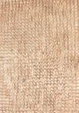 Alfombra de pila de Brown Foto de archivo libre de regalías