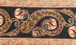 Alfombra de seda finalmente tejida Imagen de archivo