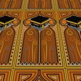 Alfombra del rezo de Kabah Fotos de archivo