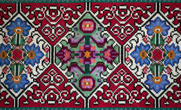 Alfombra eslava de Handemade Imágenes de archivo libres de regalías