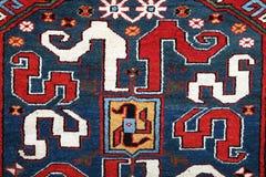Alfombra hecha a mano de Azerbajan Imagenes de archivo
