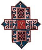 Alfombra hecha a mano de Azerbajan Imagen de archivo