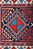 Alfombra hecha a mano de Azerbajan Fotos de archivo