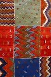 Alfombra marroquí foto de archivo