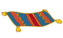 Alfombra persa. stock de ilustración