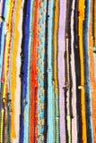 Alfombra rayada colorida Imagen de archivo libre de regalías