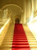 Alfombra roja Imágenes de archivo libres de regalías