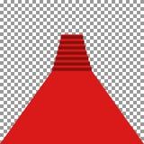 Alfombra roja vip stock de ilustración
