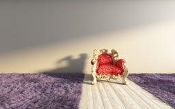 Alfombra violeta clásica Foto de archivo