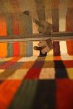 Alfombra y manta Imagenes de archivo