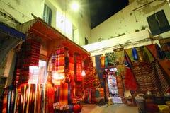 Alfombras marroquíes Foto de archivo