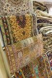 Alfombras persas imagen de archivo libre de regalías