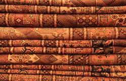 Alfombras persas en la visualización Imagen de archivo