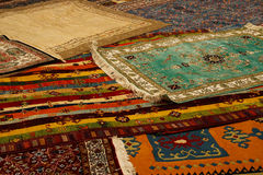 Alfombras turcas foto de archivo libre de regalías