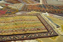 Alfombras turcas Imagen de archivo