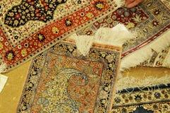 Alfombras turcas Imágenes de archivo libres de regalías