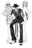 alfons, royalty ilustracja