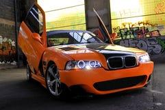 Alfons mój samochód Obrazy Royalty Free