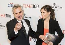 Alfonso Cuaron en Sheherazade-Goudsmid stock foto