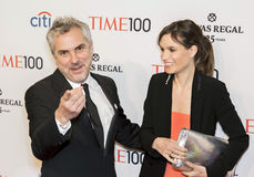 Alfonso Cuaron and Sheherazade Goldsmith Stock Photo