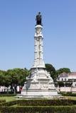 Alfonso de Albuquerque monument at Lisbon Royalty Free Stock Photos