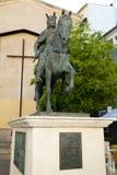 Alfonso VIII statua obraz royalty free