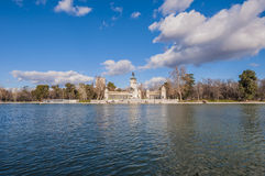 Alfonso XII statue on Retiro Park in Madrid. Royalty Free Stock Images