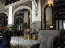 Alfonso XIII förbindande lobby royaltyfri bild