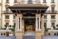 Alfonso XIII hotell i Seville royaltyfria foton