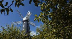 Alford, Lincolnshire, Reino Unido, em julho de 2017, opinião Alford Windmill imagens de stock