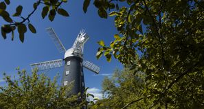 Alford, Lincolnshire, United Kingdom, July 2017, View of Alford Windmill stock images
